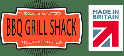 BBQ Grill Shack Made In Britain - Website Footer Logo