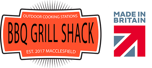 BBQ Grill Shack Made In Britain - Website Footer Logo