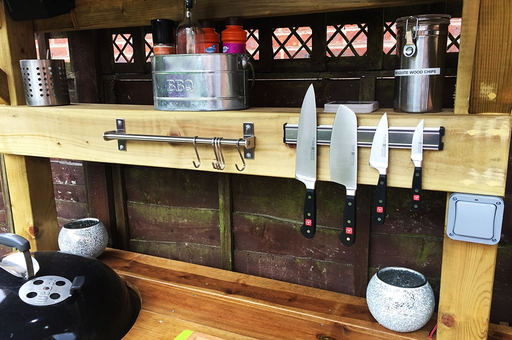 BBQ Grill Shack - Customised your shack with our accessories